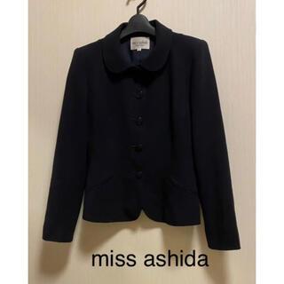 ジュンアシダ(jun ashida)のmiss ashida❣️ラウンドカラージャケット BLACK(その他)