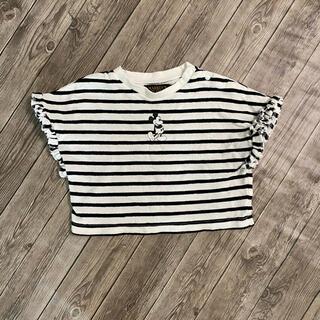 MARKEY'S - マーキーズ ミッキー  ボーダー Tシャツ 90