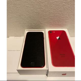 iPhone - iPhone8 PRODACT RED 256GB 赤 SIMフリー