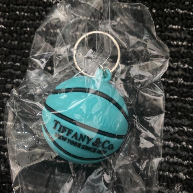 Tiffany & Co.(ティファニー)のTIFFANY ティファニー バスケット ボール キーホルダー スポルディング レディースのファッション小物(キーホルダー)の商品写真