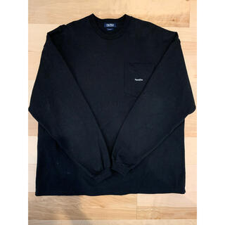 """ノーティカ(NAUTICA)のNAUTICA """"TOO HEAVY"""" Pocket L/S Tee black(Tシャツ/カットソー(七分/長袖))"""