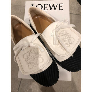 LOEWE - LOEWE スニーカー フラットシューズ 完売品 24.5センチ yori 美品