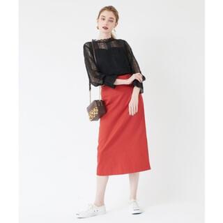 ティティベイト(titivate)のtitivate ウエストデザインタイトスカート 新品(ロングスカート)