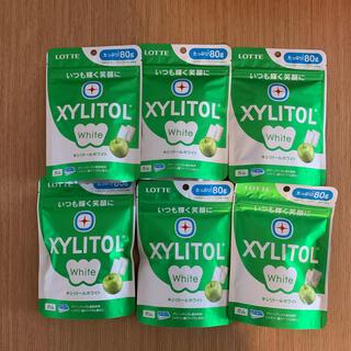 キシリトールホワイトグリーンアップル 6個(菓子/デザート)