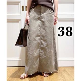 DEUXIEME CLASSE - 【SURT/サート】 コーデュロイ マキシ スカート 38 グレー