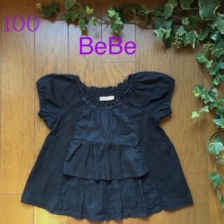 BeBe - BeBe♡トップス  Tシャツ.チュニック100