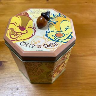 ディズニー(Disney)のチップ&デール 空き缶(その他)