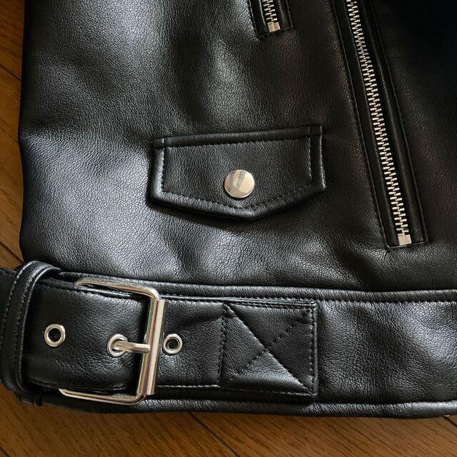 ZARA(ザラ)の美品 ZARA ライダースジャケット L レディースのジャケット/アウター(ライダースジャケット)の商品写真