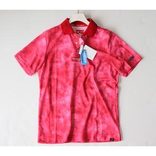 New Balance - 新品タグ付き【ニューバランスゴルフ】 グラデーションポロシャツ 赤 4(M)