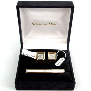Christian Dior - クリスチャンディオール CDロゴ カフス&ネクタイピンセット 17-419