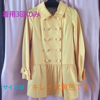 プロポーションボディドレッシング(PROPORTION BODY DRESSING)のスプリングコート◆PBD イエロー 黄色(スプリングコート)