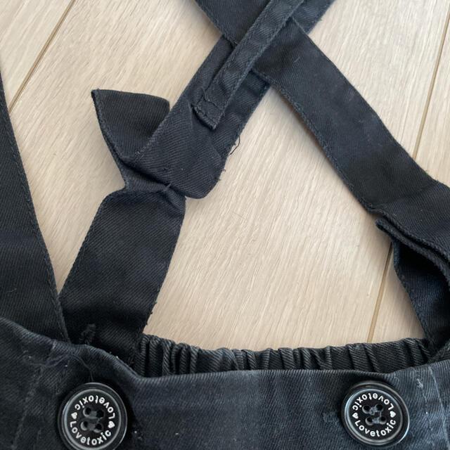 lovetoxic(ラブトキシック)のラブトキ 肩出しTシャツ ショートパンツ 150 キッズ/ベビー/マタニティのキッズ服女の子用(90cm~)(Tシャツ/カットソー)の商品写真