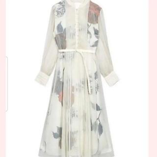 Ameri VINTAGE - 新品 アメリAmeri vintage ELLA VEIL DRESS ホワイト