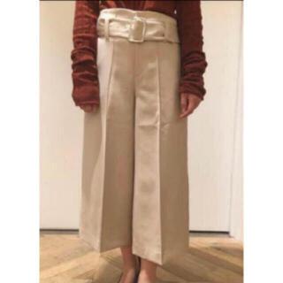 ミラオーウェン(Mila Owen)のMira Owen ミラオーウェン ガウチョ 美品 スカート(クロップドパンツ)
