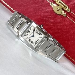 Cartier - ☆美品☆ カルティエ タンクフランセーズ 3217 スティール SM / 腕時計