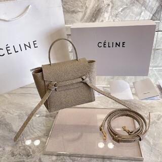 celine - 【期間限定価格】人気が高い CELINE ショルダーバッグ