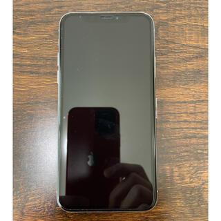 iPhone - 【美品】iPhone X 64GB シルバー SIMフリー