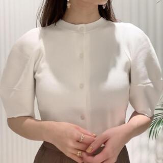 snidel - SNIDEL♡ Sustainaパターンパフスリニットプルオーバー
