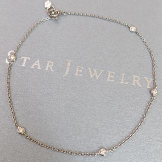 STAR JEWELRY - スタージュエリー プラチナ ダイヤステーションブレスレット