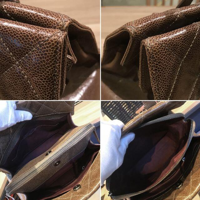 CHANEL(シャネル)の美品 シャネル マトラッセ トートバッグ ショルダー ヴィンテージキャビア レディースのバッグ(ハンドバッグ)の商品写真