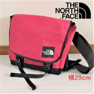 THE NORTH FACE - THE NORTH FACE★横29cmピンクショルダーバッグ★たっぷり収納