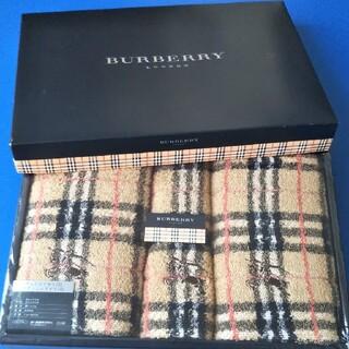 BURBERRY - BURBERRY バーバリー  フェイスタオル ウォッシュタオル タオルセット