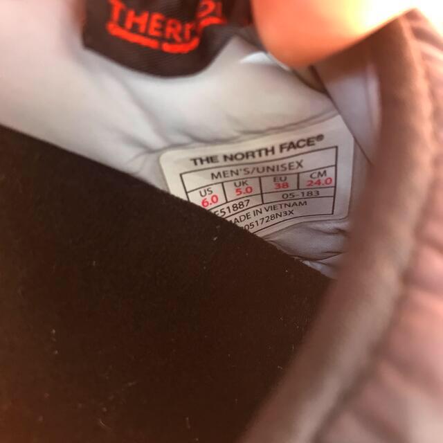 THE NORTH FACE(ザノースフェイス)の【専用】THE NORTH FACE ヌプシ トラクションライトミュール レディースの靴/シューズ(スリッポン/モカシン)の商品写真