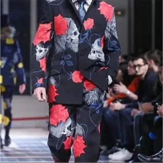 Yohji Yamamoto - [復刻]ヨウジヤマモト スカルローズジャケット