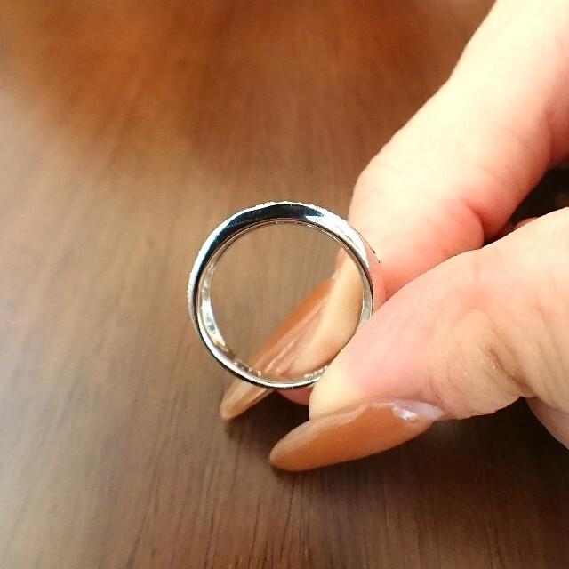 Vendome Aoyama(ヴァンドームアオヤマ)のvendome✨ダイヤモンド リング V字 ハーフエタニティ プラチナ 9号 レディースのアクセサリー(リング(指輪))の商品写真