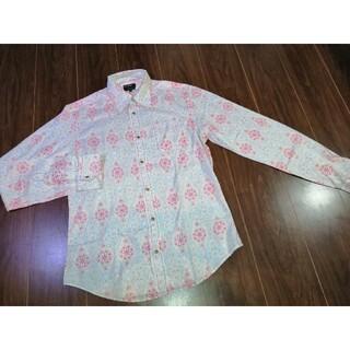 エナジー(ENERGIE)の美品/ENERGIE/GOLD/エナジー/シャツ/ボタニカル/花柄/ドレス(シャツ)