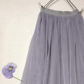 グレイル(GRL)の★ 韓国系 チュールスカート ★(ロングスカート)