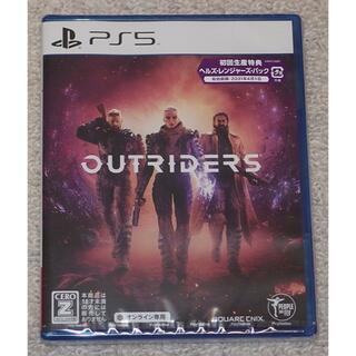 プレイステーション(PlayStation)のPS5 アウトライダーズ 新品未開封(家庭用ゲームソフト)