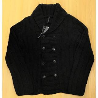 ブラックバレットバイニールバレット(BLACKBARRETT by NEIL BARRETT)の新品BLACKBARRETTブラックバレットコットンウールニットライクジャケット(ニット/セーター)