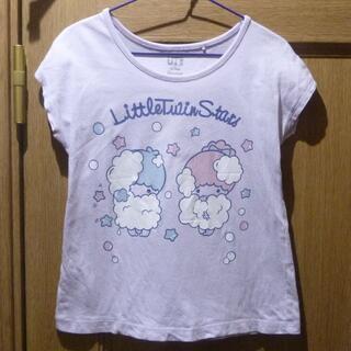 リトルツインスターズ - サンリオ リトルツインスターズのTシャツ サイズ110 (838)