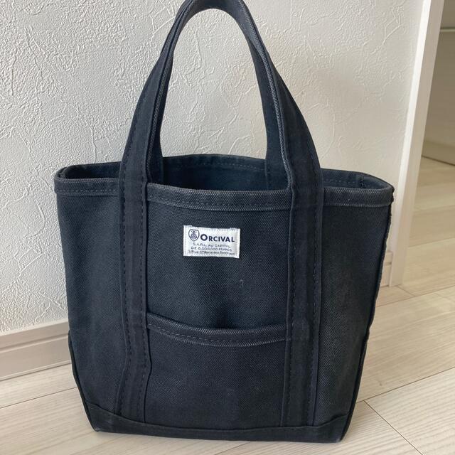 ORCIVAL(オーシバル)のオーシバル トートバッグ ブラック 黒 S レディースのバッグ(トートバッグ)の商品写真
