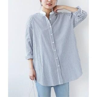 IENA - 今季予約品★journal standard ストライプシャツ