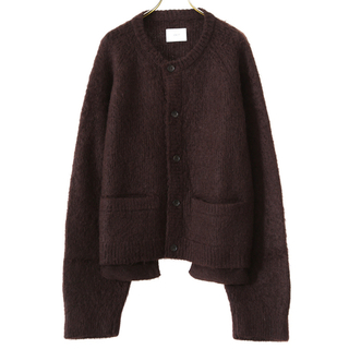 吉沢亮着用 stein kid mohair cardigan brown M