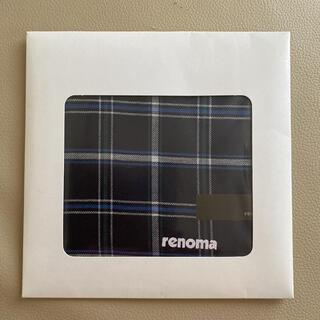 レノマ(RENOMA)の《renoma》メンズハンカチ(ハンカチ/ポケットチーフ)