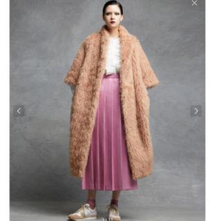 ドゥロワー(Drawer)の新品2020AW drawer ウールツイルフロントプリーツスカート 36 (ロングスカート)