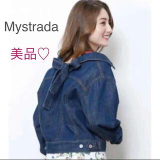 Mystrada - 4/16までお値下げ【美品】マイストラーダ♡リボン♡デニムジャケット♡Gジャン