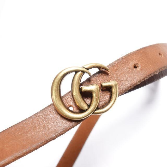 Gucci(グッチ)の■Gucci ベルト レディース ブラウン レディースのファッション小物(ベルト)の商品写真