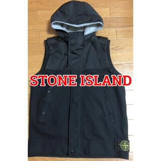 ストーンアイランド(STONE ISLAND)のSTONE ISLAND ストーンアイランド フーディベスト ジレ(ベスト)