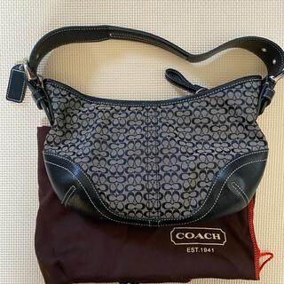 COACH - 美品COACH コーチ ミニシグネチャー ショルダーバッグ レディース  鞄