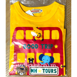 mikihouse - 新品タグ付き ミキハウス プッチー  バス 長袖Tシャツ 100