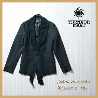 TORNADO MART - TORNADO MART  ストール付きジャケット M