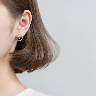 スタージュエリー(STAR JEWELRY)のmoonlight ear jacket pierce ◯Silver925(ピアス)
