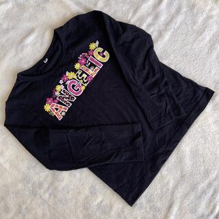シマムラ(しまむら)のしまむら 黒の長袖Tシャツ(Tシャツ/カットソー)