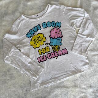 シマムラ(しまむら)のしまむら 白色長袖Tシャツ(Tシャツ/カットソー)