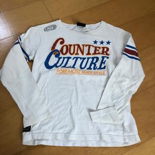 カウンターカルチャー(Counter Culture)のcounter culture  長袖 Tシャツ 140cm(Tシャツ/カットソー)