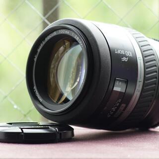 コニカミノルタ(KONICA MINOLTA)のminolta af 100mm f2.8 soft focus(レンズ(単焦点))